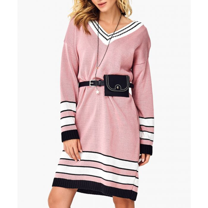Image for Dirty pink knitted sweater