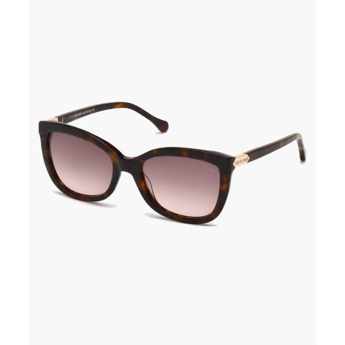 Image for Brown cateye sunglasses