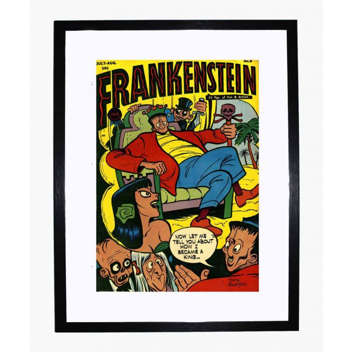 Image for Frankenstein 08 framed print