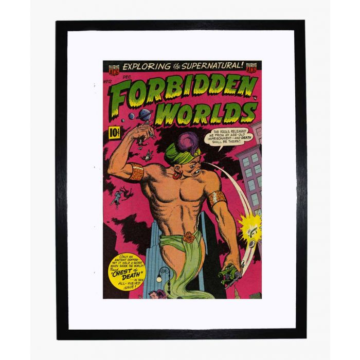 Image for Forbidden Worlds 12 framed print