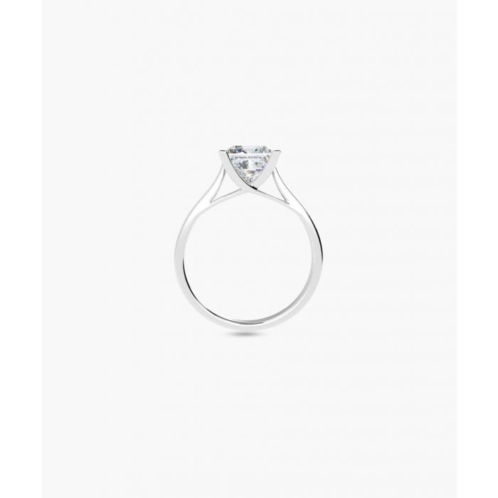 Image for 1.00ct princess diamond solitaire ring