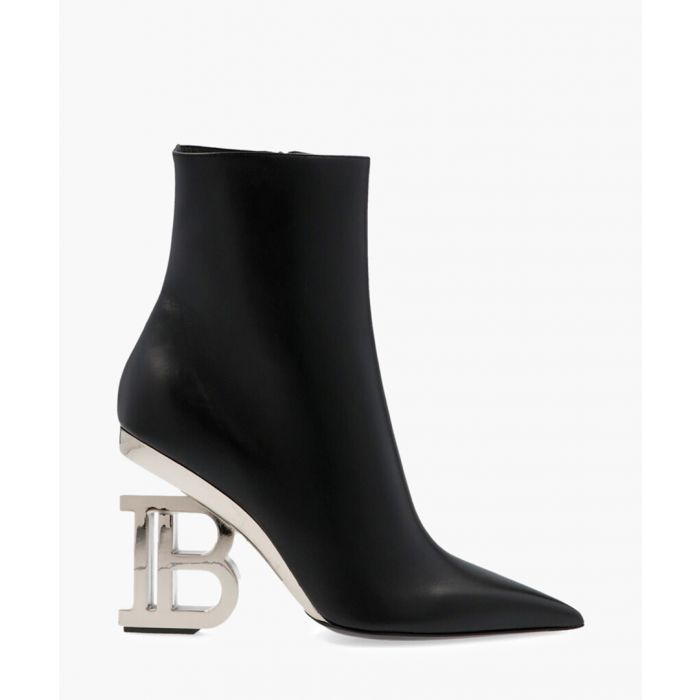Image for Nicole black leather ankle boots