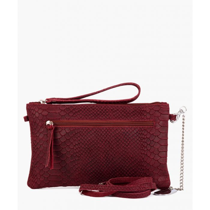 Image for Marla cherry clutch
