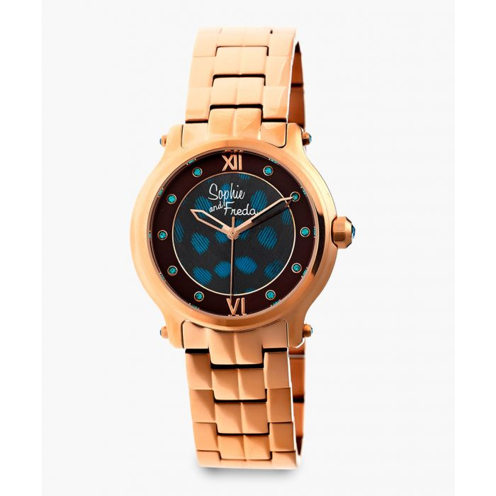 Image for Siena rose gold-tone watch