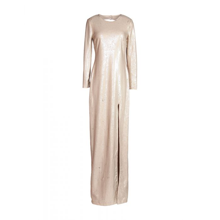 Image for Halston Pale pink Polyester Vestiti lunghi