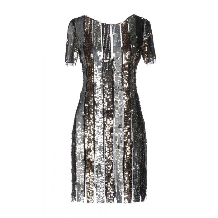 Image for Space Style Concept Woman Silver Short dresses