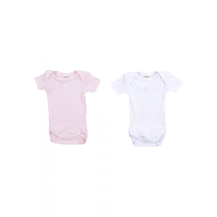Image for Pink short sleeve cotton jersey body