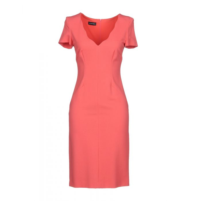 Image for Emporio Armani Woman Coral Short dresses