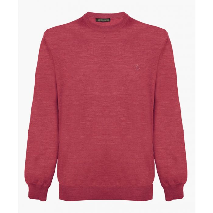 Image for Dark red pure wool jumper
