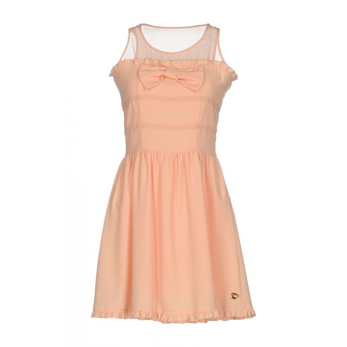 Image for Maison Espin Woman Apricot Short dresses