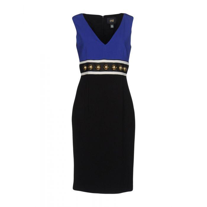 Image for Black knee-length dress
