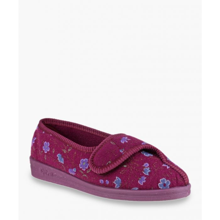 Image for Womens wine slippers