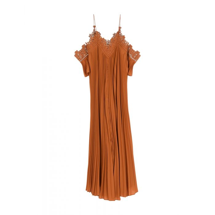 Image for Rust maxi dress