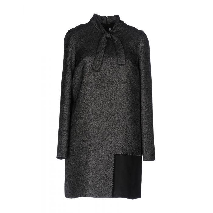 Image for Silver-tone mini dress
