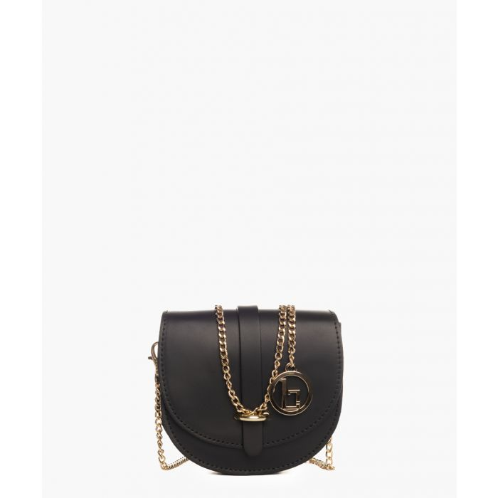 Image for Fiora black leather crossbody