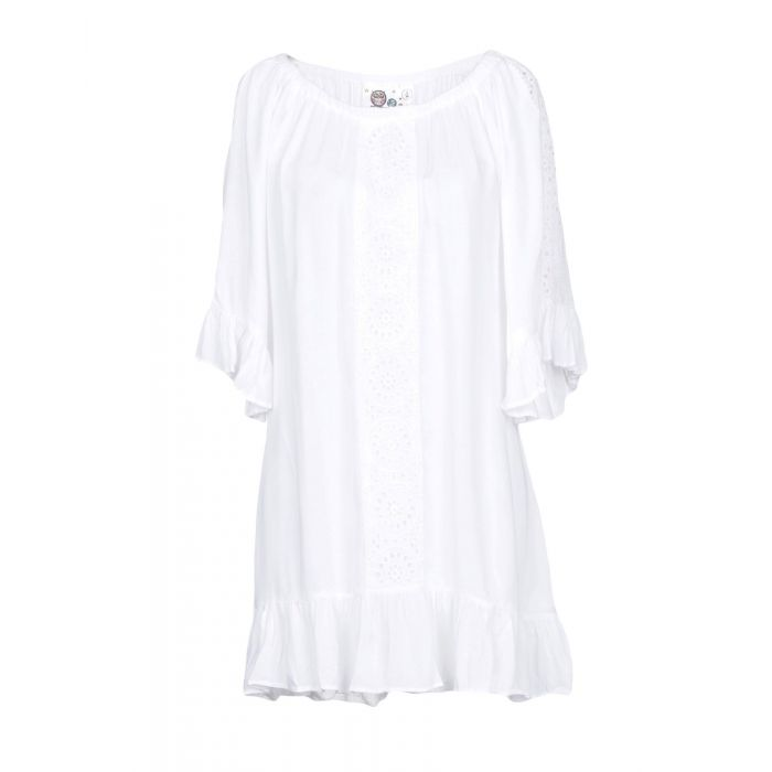 Image for Peace + Love By Calao Woman White Short dresses