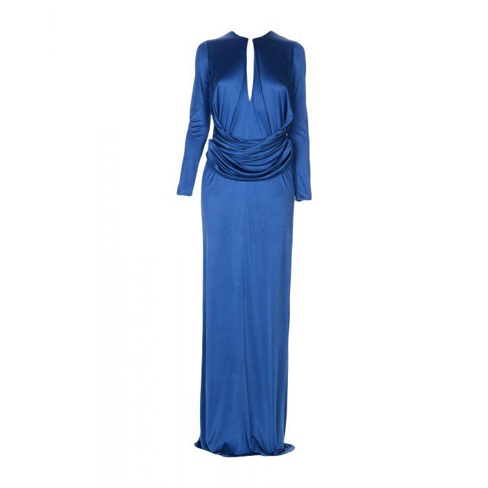 Image for Issa Blue Viscose Vestiti lunghi