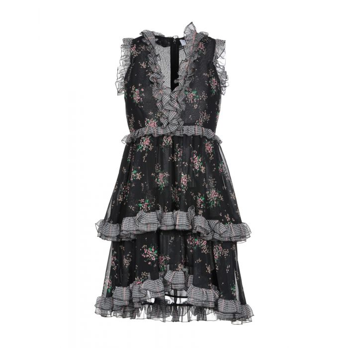 Image for Msgm Black Polyester Vestiti corti