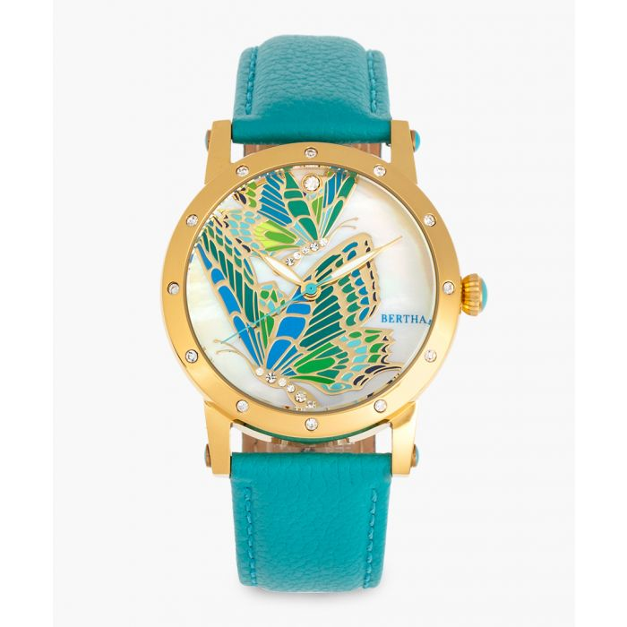 Image for Isabella turquoise watch