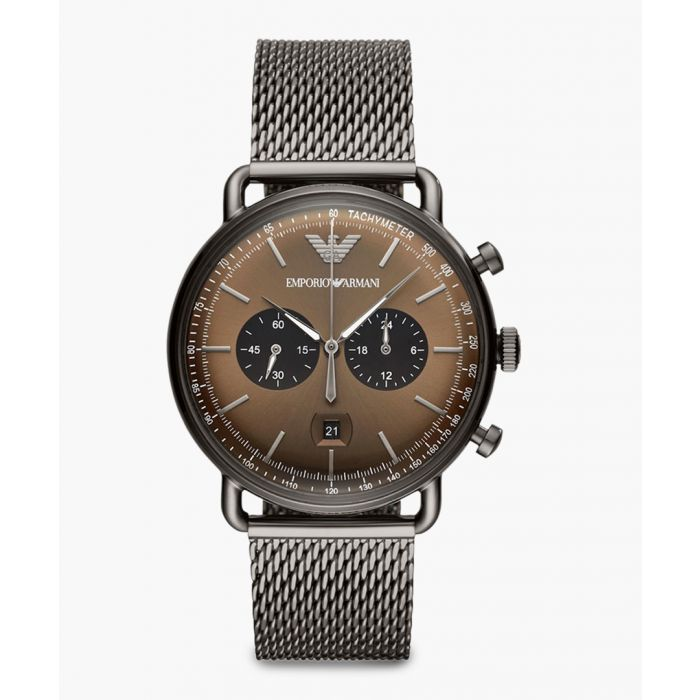 Image for Gunmetal stainless steel watch