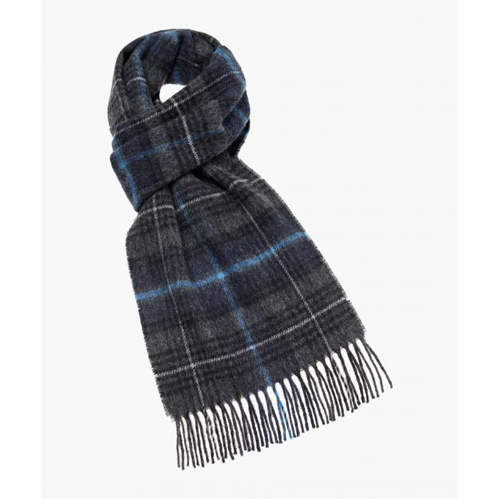 Image for Canterbury charcoal pure wool scarf