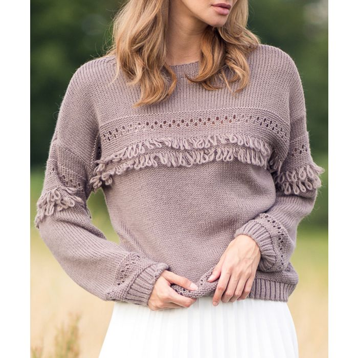 Image for Mocca knitted mohair blend sweater