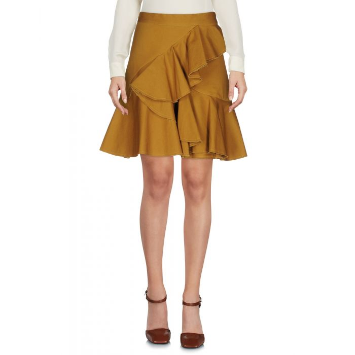 Image for Nineminutes Woman Khaki Mini skirts