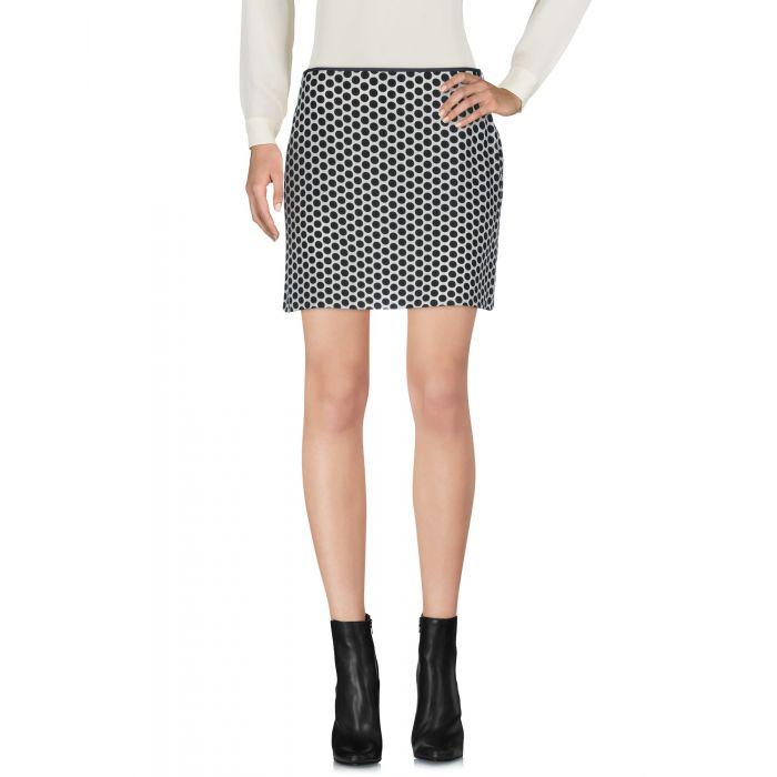 Image for Black acetate mini skirt