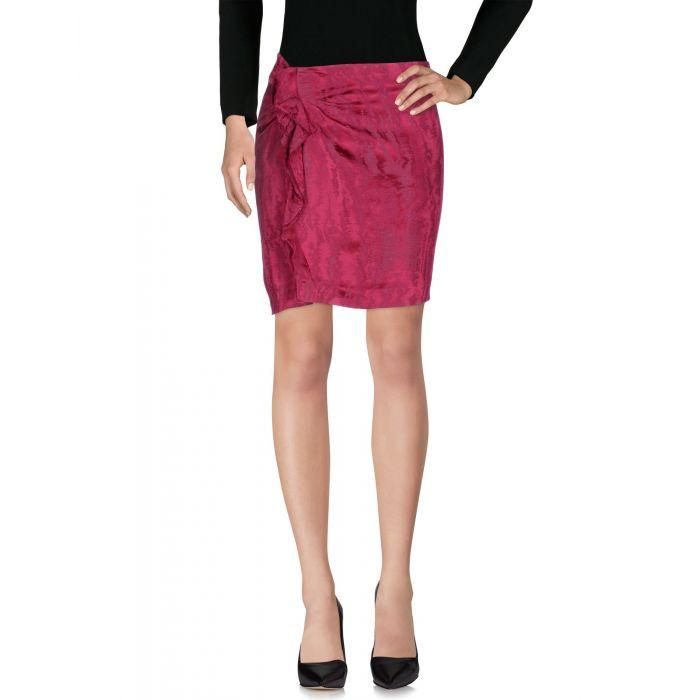 Image for Garnet viscose knee-length skirt