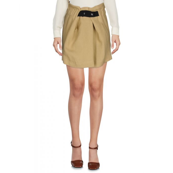 Image for Sand natural fibre mini skirt