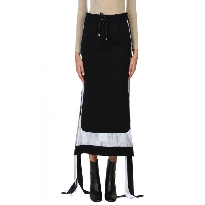 Image for Nicopanda Black Rayon Gonne lunghe