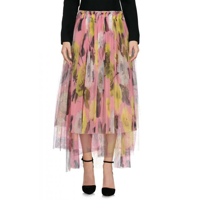 Image for Msgm Pink Polyester Gonne longuette