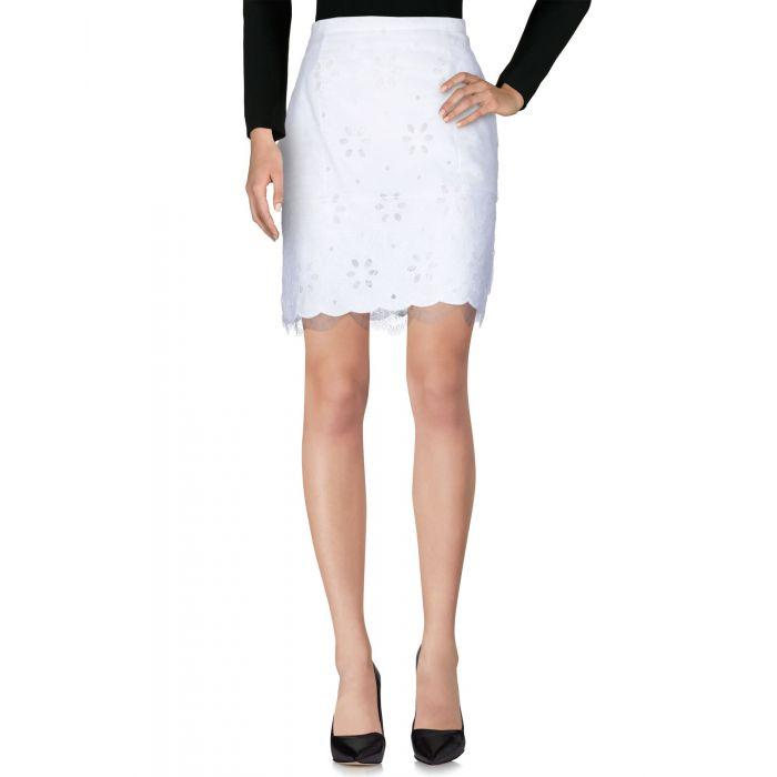Image for Worth Paris White Cotton Gonne ginocchio