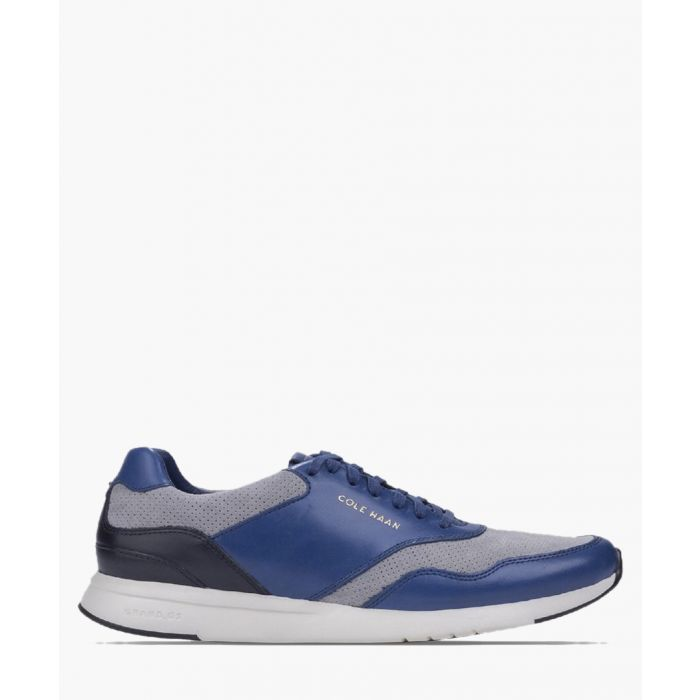 Image for Mens navy trainers