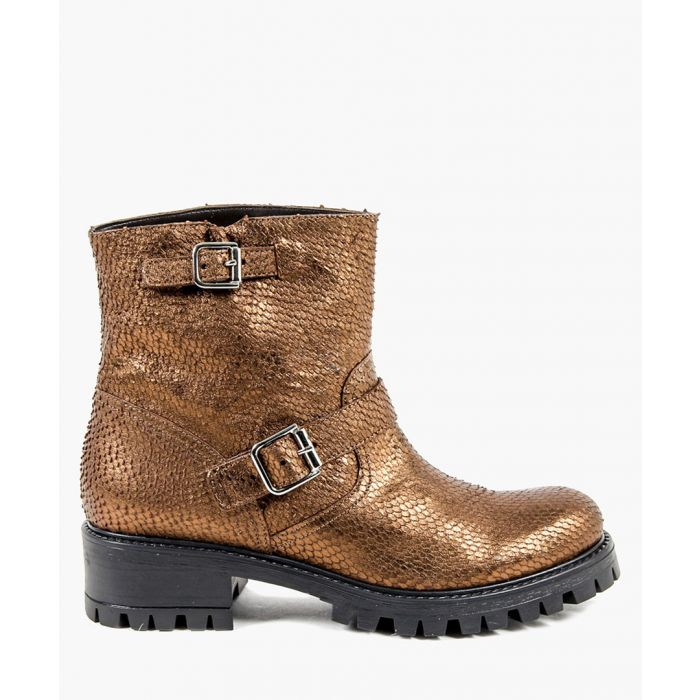 Image for Bronze-tone boots