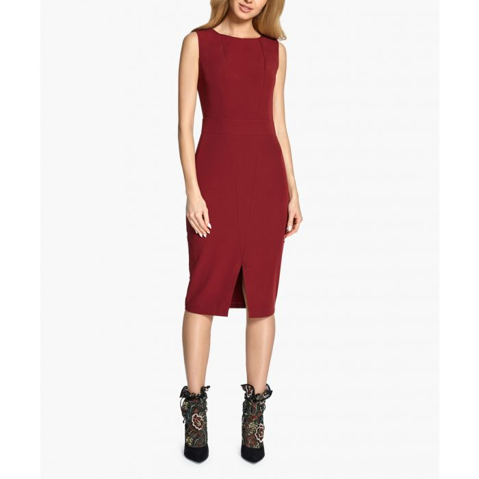 Image for Maroon dress