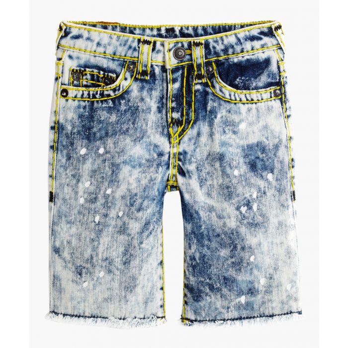 Image for Boys Geno white cotton shorts