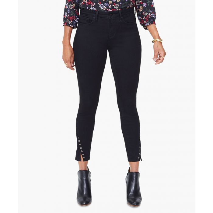 Image for Ami black skinny ankle jeans