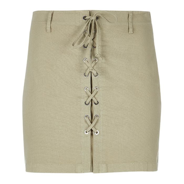 Image for Talia gibson cotton blend skirt