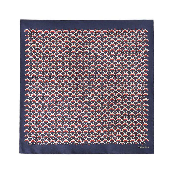 Image for Multi-coloured silk scarf 90cm