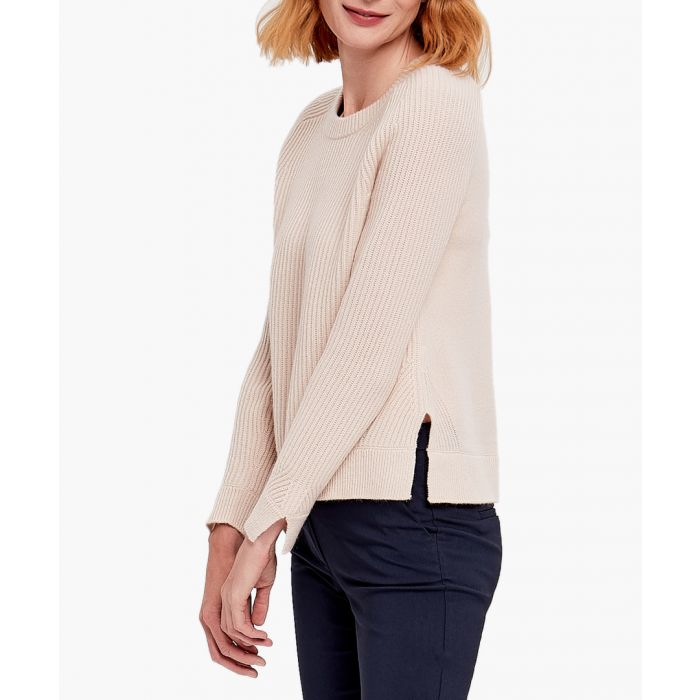 Image for Beige pure cashmere jumper