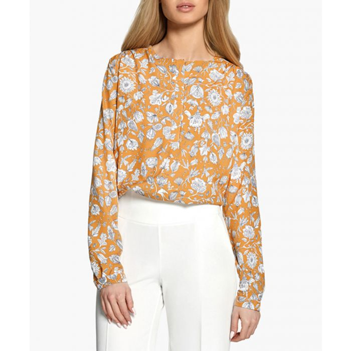 Image for Dark yellow blouse