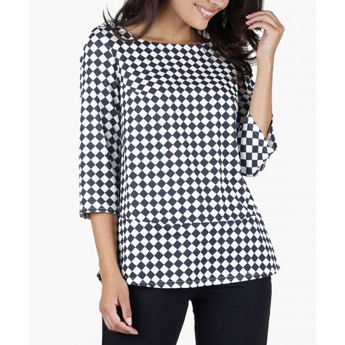 Image for Checked Woven Blouse