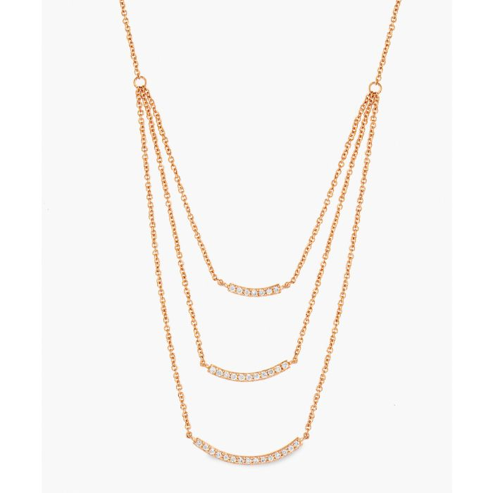 Image for 18k rose gold-plated necklace
