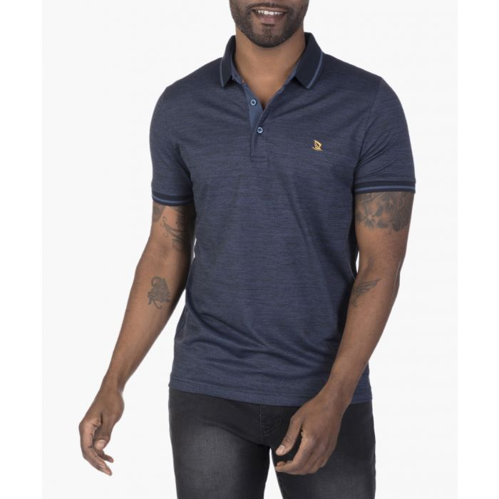 Image for Navy and  black polo shirt
