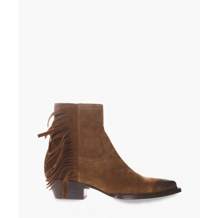 Image for Lukas camel-coloured ankle boots