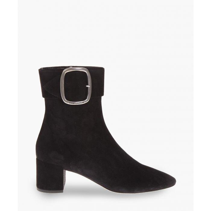Image for Joplin 50 black suede boots