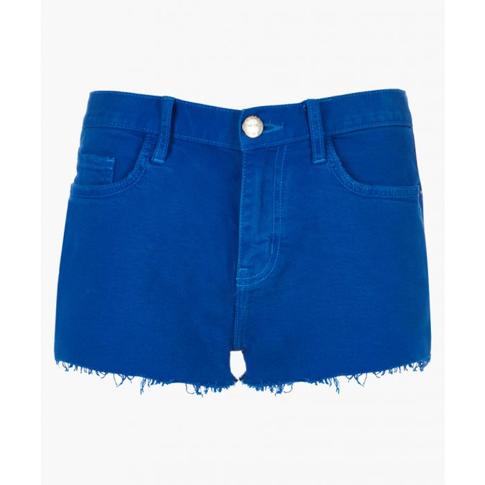Image for The Boyfriend royal blue cotton shorts