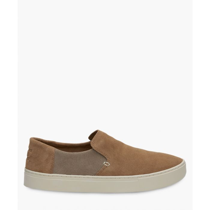 Image for Lomas brown canvas shoes