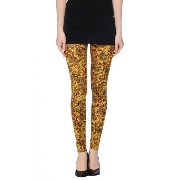 Image for Just Cavalli Woman Yellow Leggings